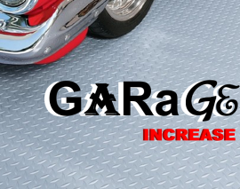 garage increase
