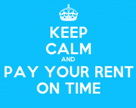 RENT INCREASE FROM APRIL 2015